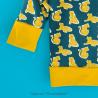 Tigres d'or - Tshirt manches longues - Vert canard