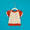 Rock n' rock - Tshirt manches courtes - Gris